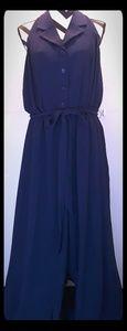 Modcloth navy blue jumpsuit